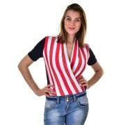 Mayo Chix női rövid ujjú body AMPARO m2019-1Amparo0508/kek-piros-feher