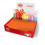 Carta regalo tinta unita Rex Sadoch 74450LIT - 334863 Formato 70x100 cm - Colore assortiti colori pastello - Confezione da 50 - 74450LIT
