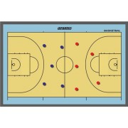 Sportec Coachbord Basketbal Magnetisch 46 X 30 cm
