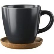 Rörstrand Höganäs Kaffemugg Grå