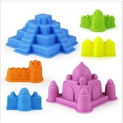 Jutao Educational Toys Space Sand Molds set Sandbox