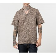 Wood Wood Brandon Shirt Taupe Aop