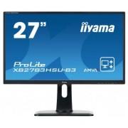 IIYAMA Monitor Iiyama XB2783HSU 27inch, AMVA+, Full HD, DVI/HDMI, USB, Kõlarid