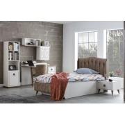 Тапицирано легло 100/200 с табла за детска стая Мебели Богдан модел Boston Welt