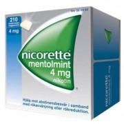 Nicorette Mentolmint, medicinskt tuggummi 4 mg 210 st