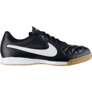 Nike - Tiempo Genio Leather IC jr zaalvoetbalschoenen - Unisex - Voetbalschoenen - Zwart - 35