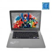 """Kempler & Strauss Laptop DC Comics Intel Atom RAM 2GB 32GB W10 14"""" - Plata"""