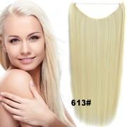 Flip in vlasy - 55 cm dlouhý pás vlasů - odstín 613 - Světové Zboží