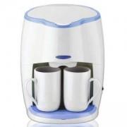 Кафемашина SAPIR SP 1170 L, Шварц кафе, 450W, LED индикатор, с подарък 2 чаши, Бяла