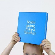 You're Going To Be A Brother Gift Book Blue