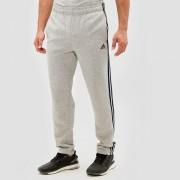 adidas Essentials 3-stripes fleece broek grijs heren