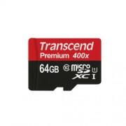 64GB Micro SD memorijska kartica Class 10 UHS-1 Transcend TS64GUSDU1