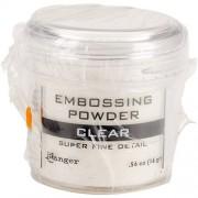 Ranger Embossing Powder, 0.56-Ounce Jar, Super Fine Clear