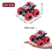 New Pinch Crazy Unbreakable Monster Trucks Friction Powered Cars for Kids Toddler Toys ( Random Color)
