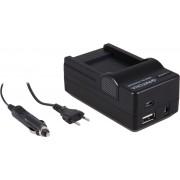PATONA 4 in 1 Charger for Sony NP-BN1 NPBN1 DSC-W310 W320 W350 TX9