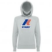 K-Way Pulls printemps/été, hiver unisexe Capuche Slimfit Loki Macro Logo Gris chiné - XL