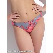 Bikinitrosa med exotiska blommor