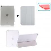 Apple iPad Mini 1, 2, 3 Smart Cover Hoes - inclusief Transparante achterkant - Wit