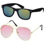 Freny Exim Aviator, Sports Sunglasses(Golden, Green)