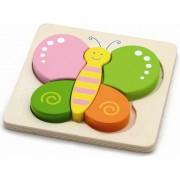 Drvene puzzle - leptir