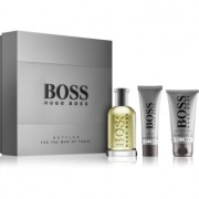 Hugo Boss Boss Bottled lote de regalo III eau de toilette 100 ml + bálsamo after shave 75 ml + gel de ducha 50 ml
