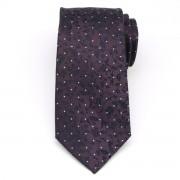 Férfiak klasszikus selyem nyakkendő (minta 370) 8442 a lila szín