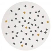 LILIPINSO Tapis coton Petits carrés - 150 cm