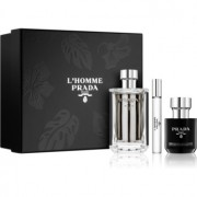 Prada L'Homme coffret I. Eau de Toilette 100 ml + eau de toilette roll-on 10 ml + creme de duche 100 ml