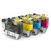 ZipZap LC-3217 Pack 10 Cartuchos Multicolor Compatibles Brother