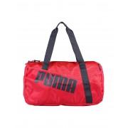 レディース PUMA 073816-Studio Barrel Bag 旅行バッグ フューシャ