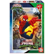 Educa 17155. 0 – 500 Piece Jigsaw Puzzle Ultimate Spider-Man Vs the Sinister 6