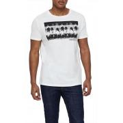 Calvin Klein Tricou pentru bărbați Relaxed Crew Tee KM0KM00320-100 White L