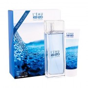 KENZO L´Eau Kenzo Pour Homme confezione regalo Eau de Toilette 100 ml + 75 ml doccia gel uomo