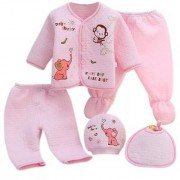 new born baby suits/ rompers set of 5 pcs