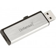 Intenso USB-minne Mobil/Tablet USB 2.0, Micro USB 2.0 Intenso Mobile Line Silver 16 GB