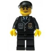 "Police Officer (Black Cap) - LEGO City 2"" Figure"