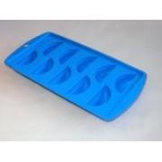 Gumis, citrom alakú jégkocka készítő kék (706)