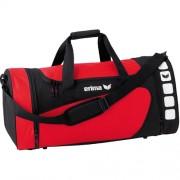 erima Sporttasche 5-CUBES (mit Nassfach) - rot/schwarz | L
