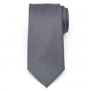 Férfiak klasszikus nyakkendő (minta 1298) 8453 a szürke szín