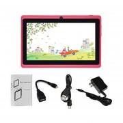 EY 7-pulgadas De Pantalla Táctil HD Niños Tablet PC 512MB +8GB US Plug Estudiantes-Rosa