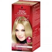 Schwarzkopf Poly Color - Permanent Cream Color - Naturlig Blond 31