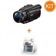 Pachet Sony FDR-AX700 Camera Video Premium 4K + Garantie Extinsa 3 Ani