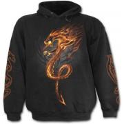 kapucnis pulóver férfi - Rock Guardian - SPIRAL - T089M451