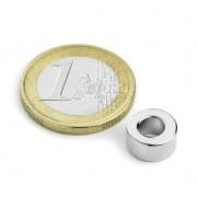 Magnet neodim inel, diametru 10/05 mm, putere 700 g