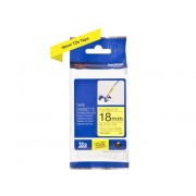 Brother Cinta BROTHER TZEFX641 laminada flexible. Texto negro sobre fondo amarillo. para P-Touch PT-3600, D400, D450, D600, D800, E300, E550, H101, H500,...