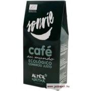 AlterNativa3 !Sonrie! - Mosolyogj -őrölt kávé a világ minden tájáról, Bio, Fair trade