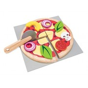 Le Toy Van Create Your Own Pizza Wooden Playset