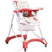 Детско столче за хранене - Mint, Cangaroo, червено, 356263
