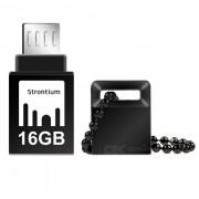 Strontium SR16GBBOTG2Z nitro OTG 16 GB USB 3.0 memory stick de la unidad flash