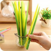 Creative Free Shipping Creative Cute Grass RollerBall Pen/Gel Pens-0.38mm Black ink Stationery
